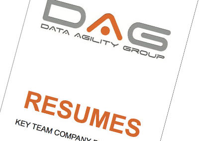 Data Agility Group Company Resume