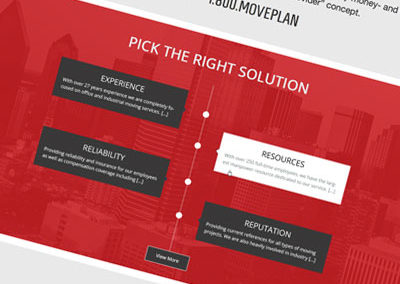 Move Solutions Website